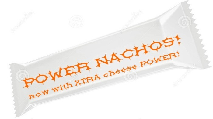 Nachos energy bar? Why not?