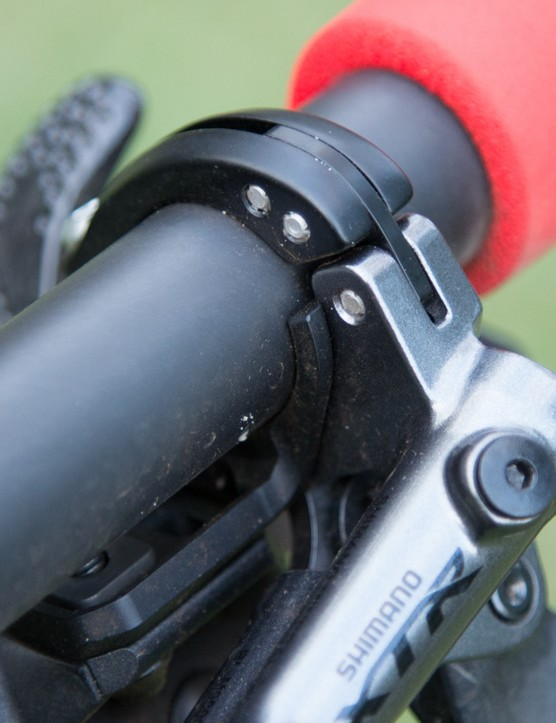The I-Spec II clamp system is far cleaner and simpler than previous designs