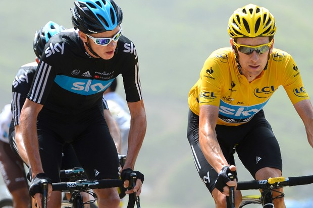 Ultra lean: Froome and Wiggins are two riders who have their body composition dialled in