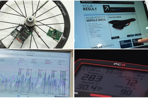 Five of the best road bike accessories (yes, we know there are only four in this pic)