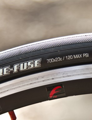 Maxxis Re-Fuse rubber is not doing the Falco's ride any favours