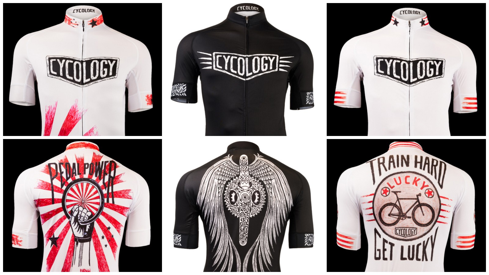 Cycology, best known for their T-shirts is getting into technical apparel. Despite the relatively low prices, these use top-end materials and construction for a racer fit