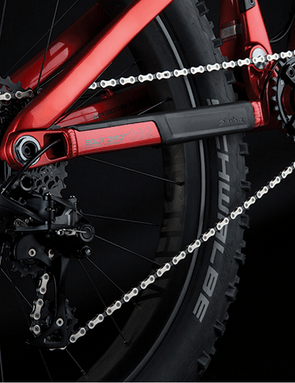 The Bucksaw Carbon complete will come with a SRAM X01 drivetrain
