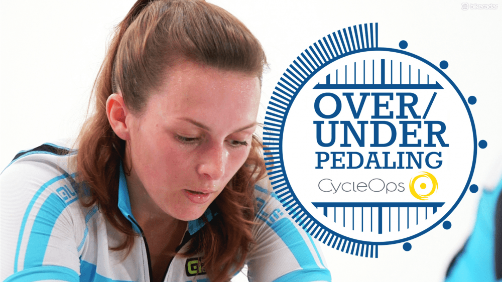 Turbo trainer workout - under and over pedalling