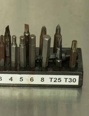 Hex bits for drill drivers are seen more rarely, because hand tools allow for greater control and accuracy