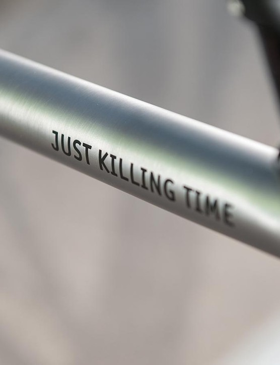We'll admit that Just Killing Time is one of the weirder bike names out there