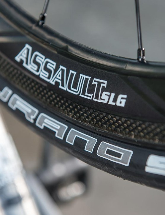 Reynolds' Assault SLG wheels give an aero benefit but don't make you suffer in crosswinds