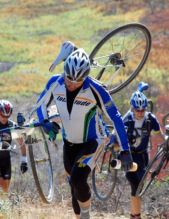 Cyclocross is on the rise. Gran fondos are on the rise. Why not a cross fondo?