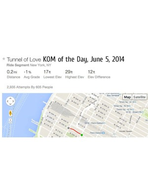 Strava KOMs — the best time ever on a given segment — are a very rare accomplishment for the average Joe. But what if we had KOMs for a given day?