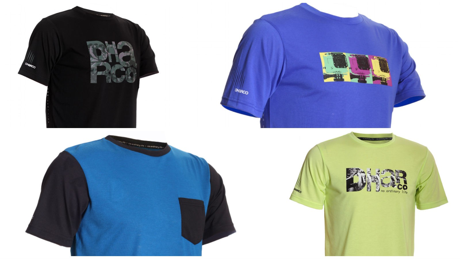 Dharco's tech tees are something we would wear on the trail and to the shops