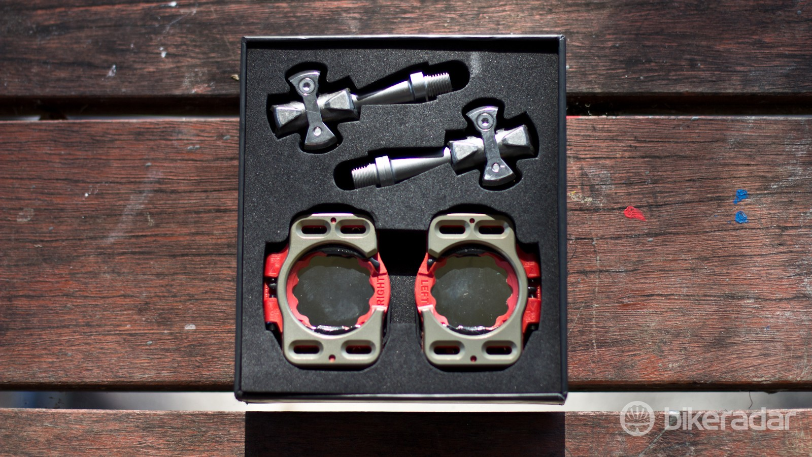 The 2015 Pave pedals come with Speedplay's new V.2. cleat
