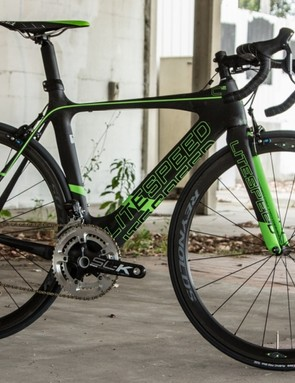 The Litespeed Ci2 is another aero road bike, but with a far lower price