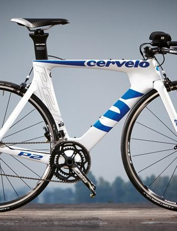 Cervelo's time trial bike is built for speed and comfort