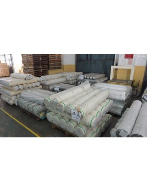Not surprisingly given the production volumes, the factory is continually taking delivery of raw materials