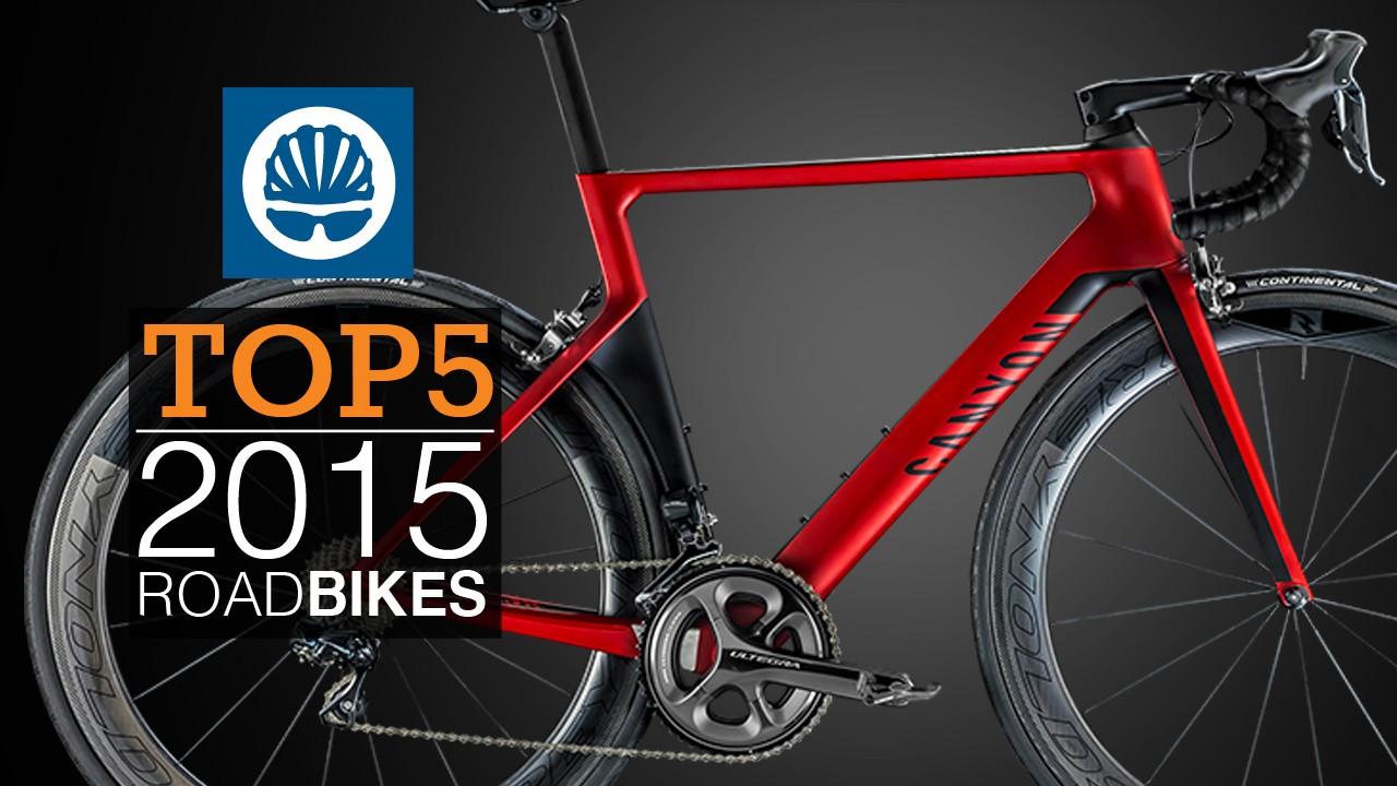 Watch the top five 2015 road bikes video below