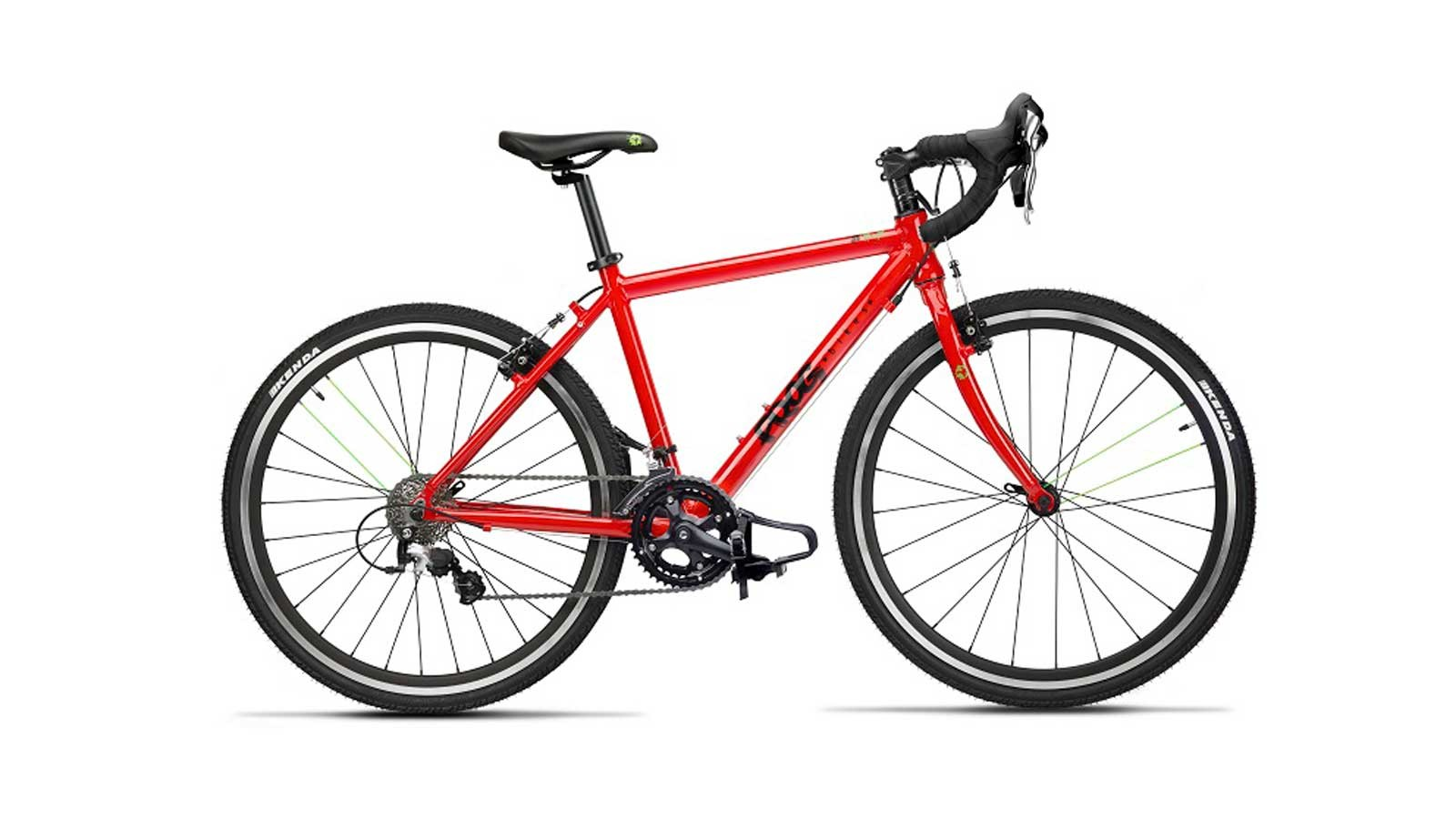 The Frog Road 70 has an alloy frame