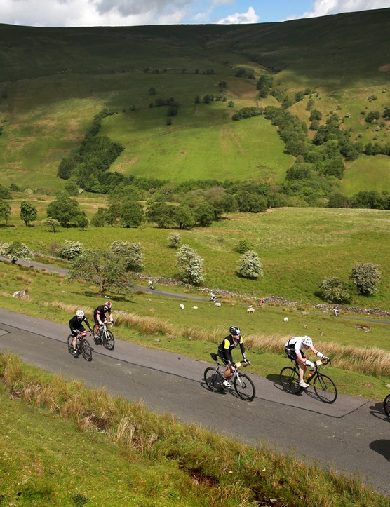 Flying through beautiful scenery can take your mind off the event, but three days is a long time in the saddle