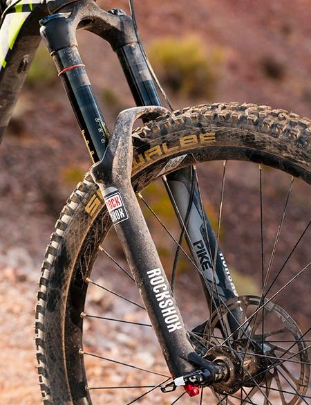 Every bike in the Spartan range comes with a RockShox Pike fork…