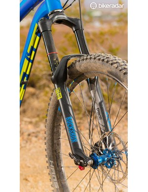 RockShox's Pike RCT3 is an on-the-money choice