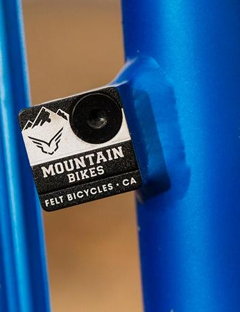 The hydroformed alloy frame is as light as many carbon chassis, but stiffness suffers as a result