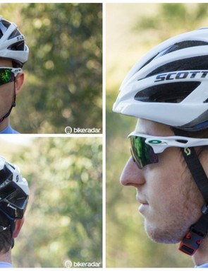 A look at the road-going Scott Wit-R helmet