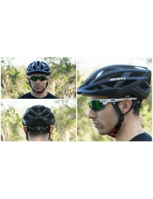 A look at the off-road Scott Wit helmet