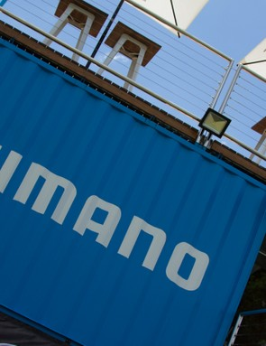 As a major event sponsor, Shimano had a large display trailer at the Cape to Cape race