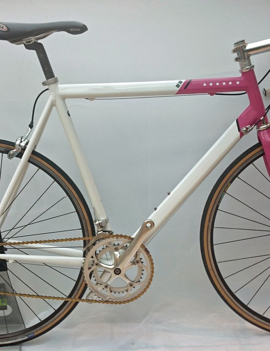 This is an original Pinarello Paris Vires Vera decked out in the Team Telekom colours of Jan Ulrich