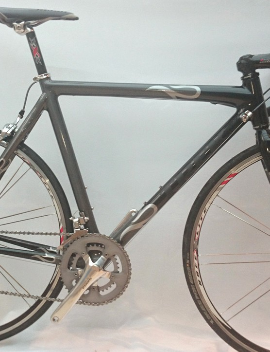 One of the 2005 Trek Madone 5.9 SL bikes used in the still-untitled movie