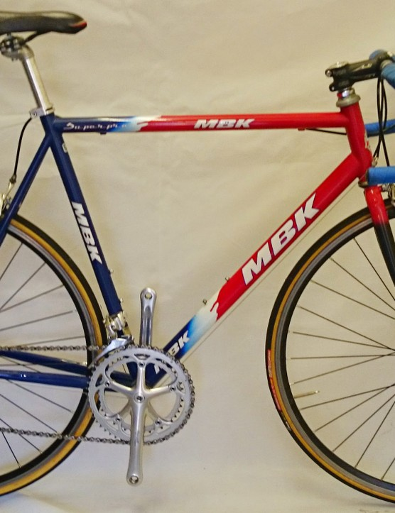 An MBK Super Pro from the Cofidis team
