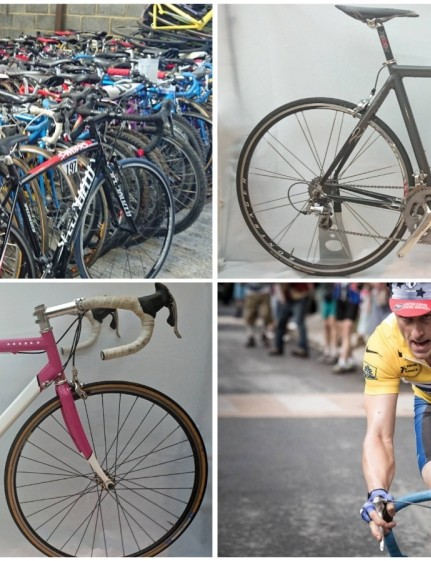 The new Armstrong film will feature a selection of period and retro-styled bikes