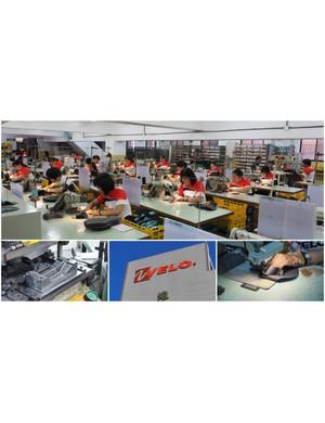 Inside: Velo saddle factory