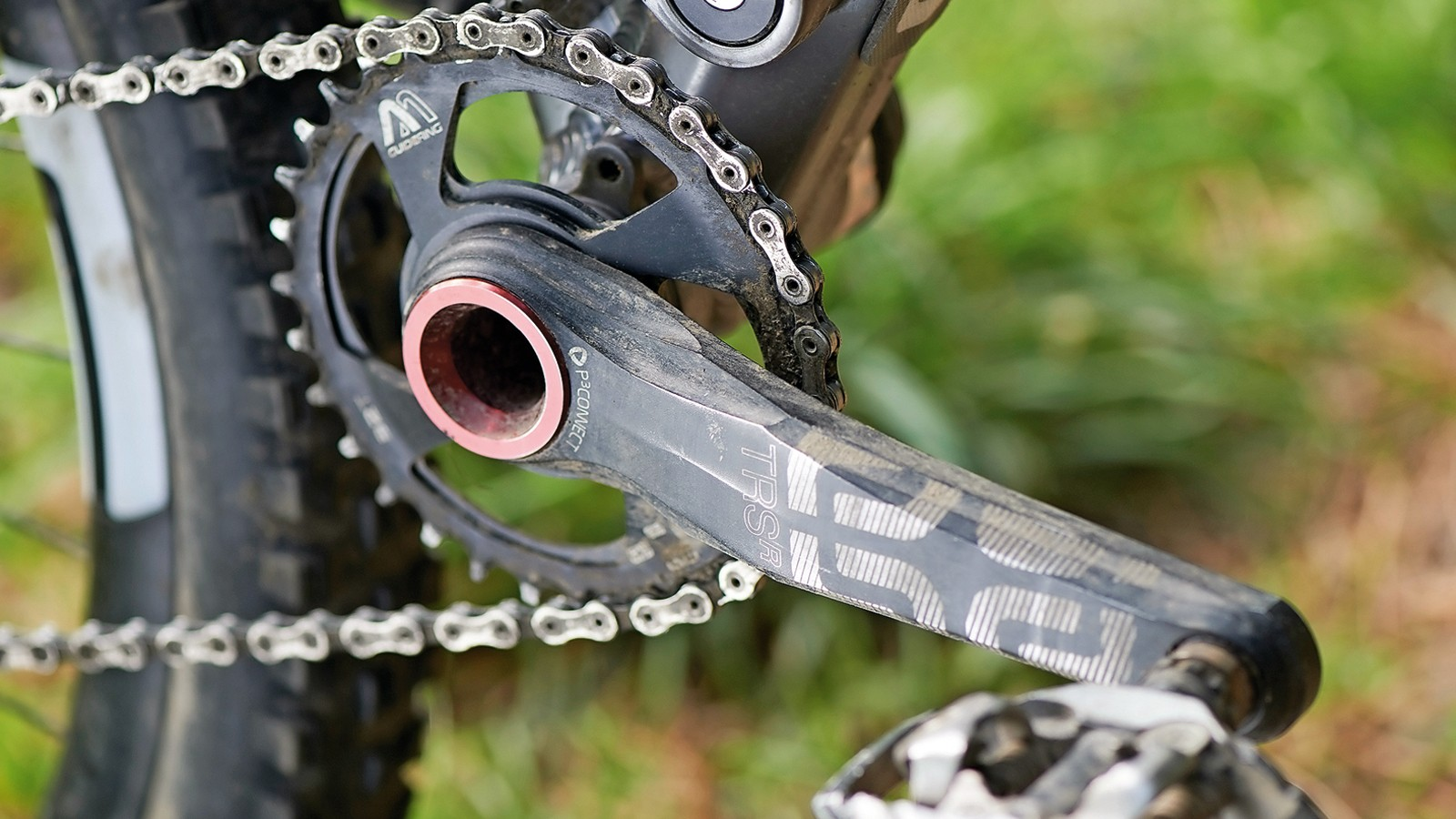 The TRSr cranks are super stiff and light