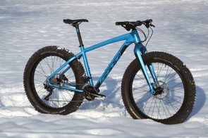 Felt gets into the fat bike game with two models: the entry-level Double Double 70 and the higher-end Double Double 30 shown here