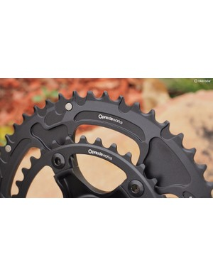 The Turn Zayante road crankset comes standard with Praxis chainrings - no surprise given that the two brands are actually under the same parent company