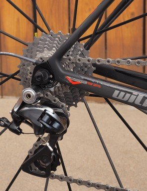 Our Shimano Dura-Ace equipped sample hits the scales at just 6.42kg (14.15lb) without pedals