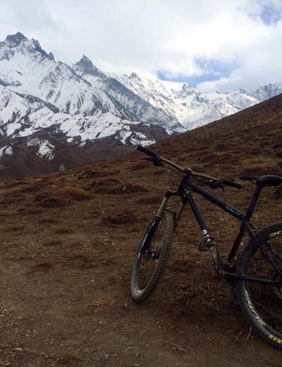 BeEj Rai's Stanton Slackline 631 on an adventure in the Himalayas