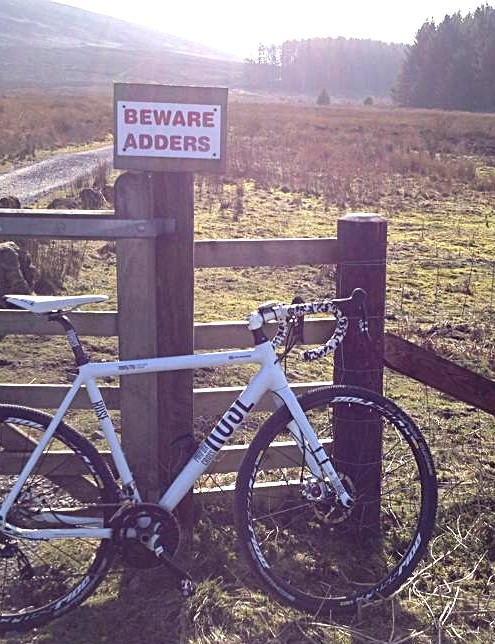 Joolz Milburn's Rose CX in Black Hambleton, North Yorkshire - watch out for snakes!