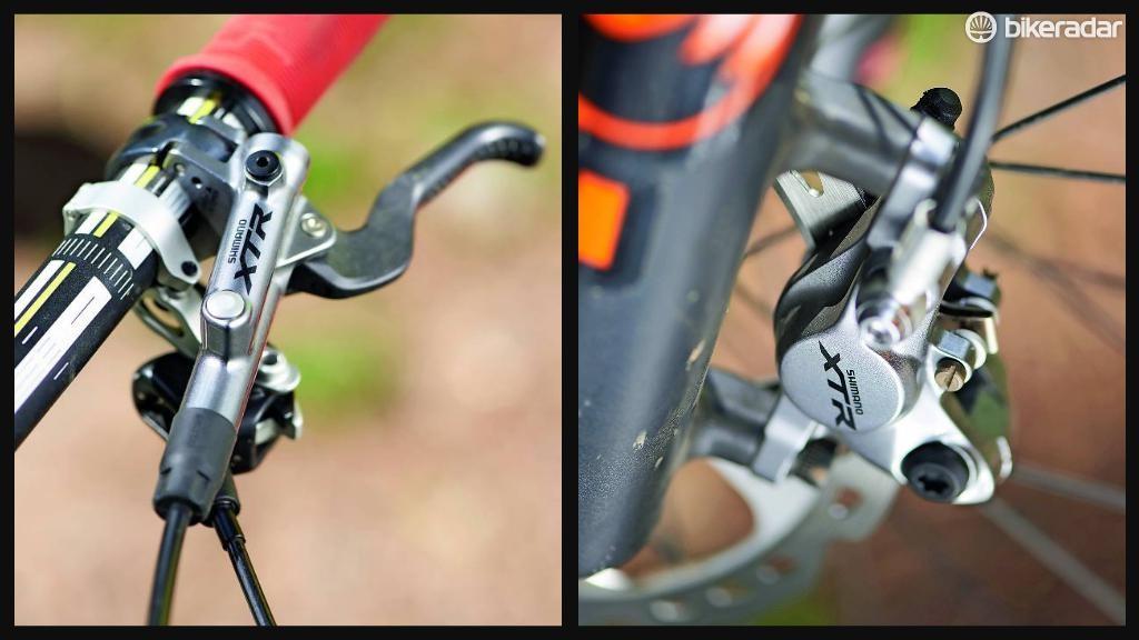 Shimano M987 XTR Race mountain bike brake