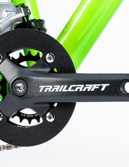 Trailcraft spec's 152mm cranks with a 104mm BCD