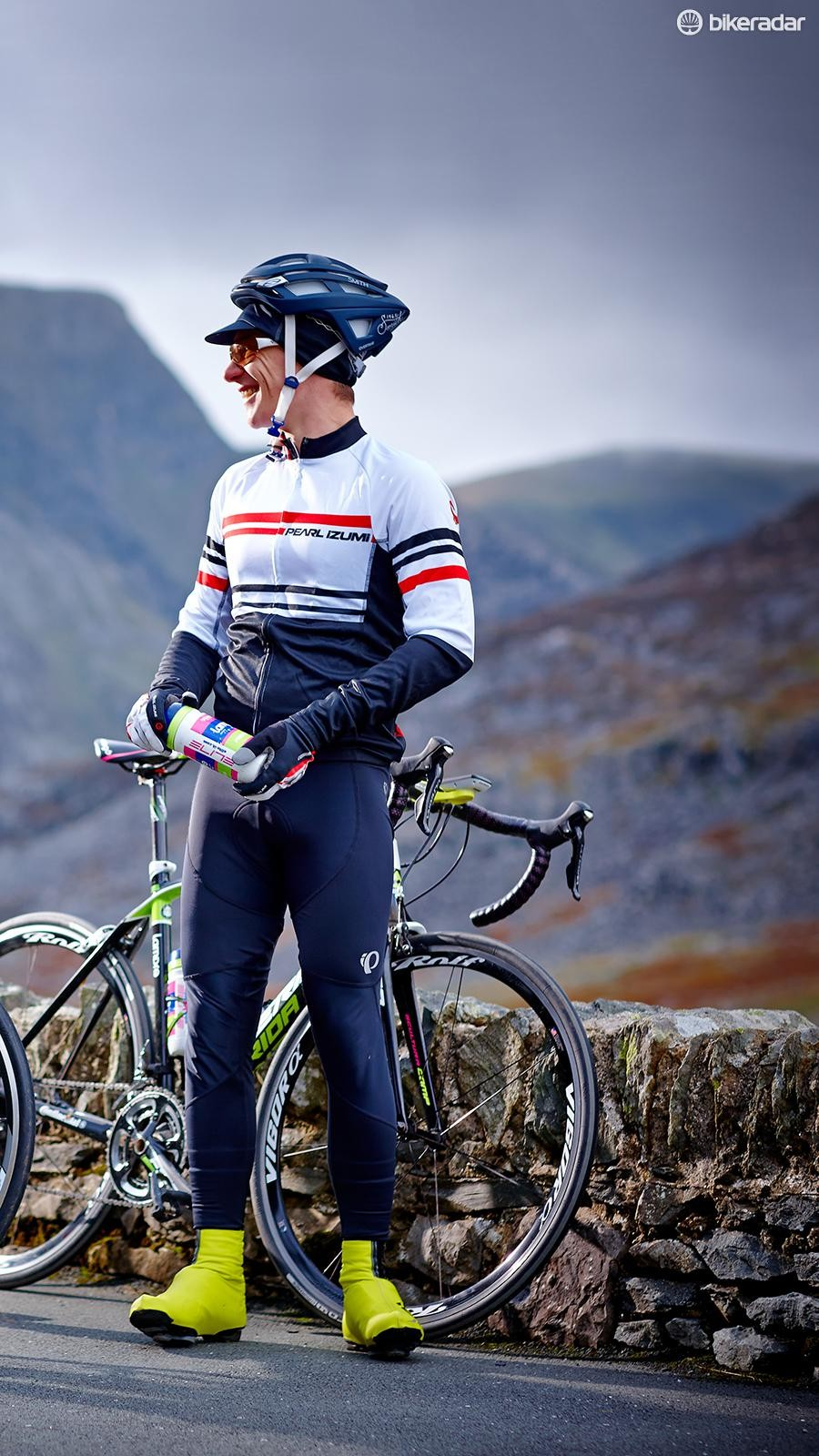 The jersey is good value, but not one for colder days. The windstopping properties of the bibs were definitely appreciated