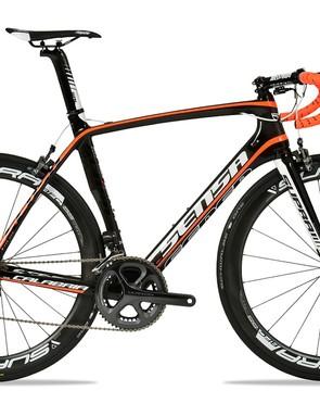 The Calabria is Sensa's take on the ever-growing aero road bike trend