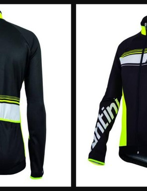 Santini Fluke LS Thermofleece jersey