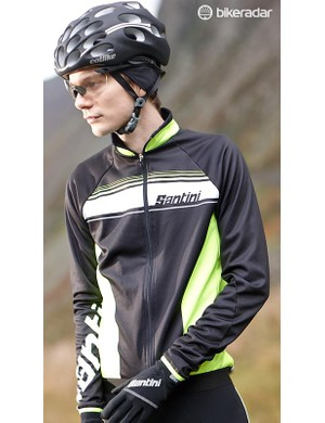 You'll need to combine the jersey with protective outerwear on all but the mildest winter days