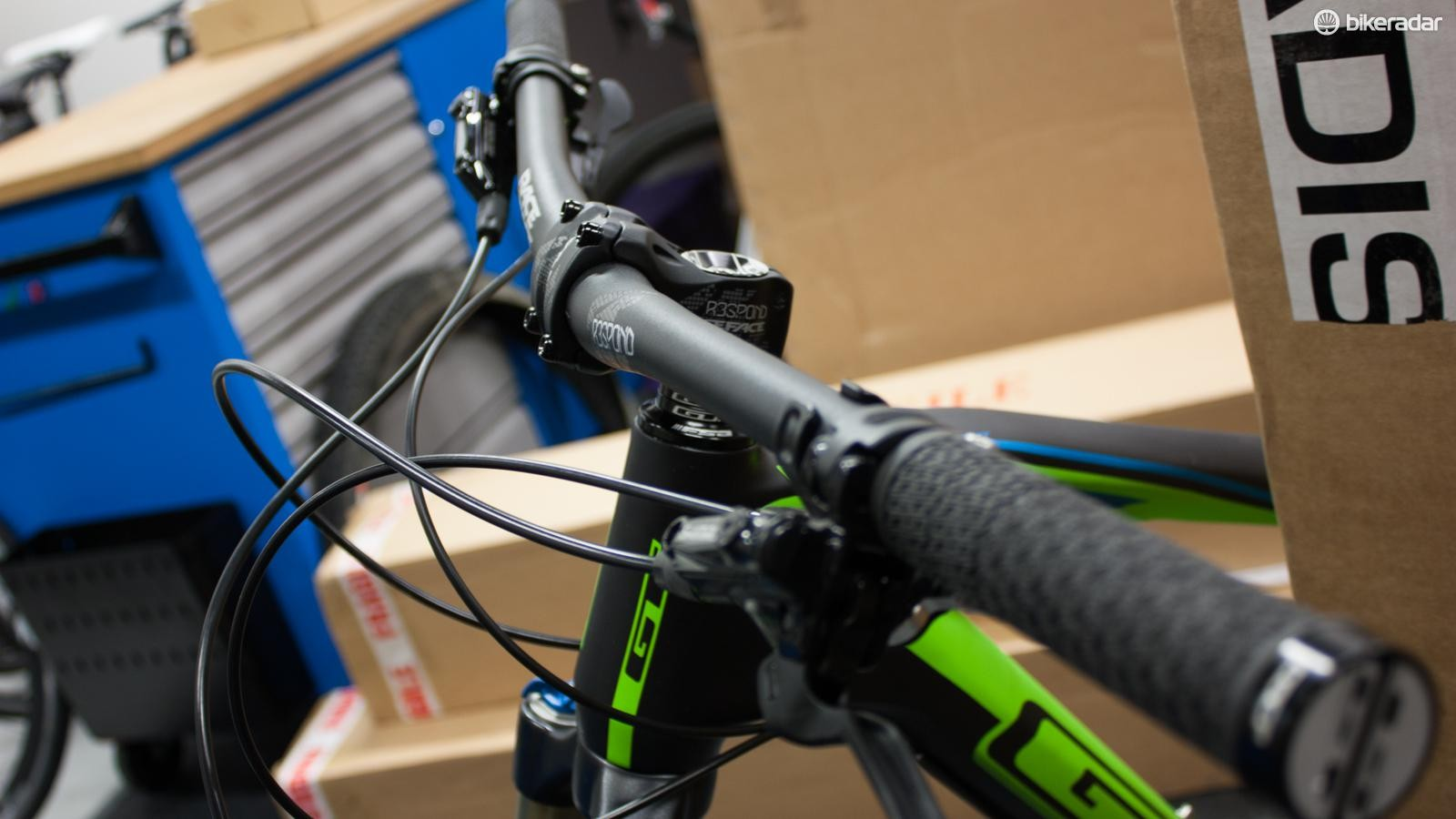 Most mountain bikes on sale today would benefit from a wider handlebar and a shorter stem