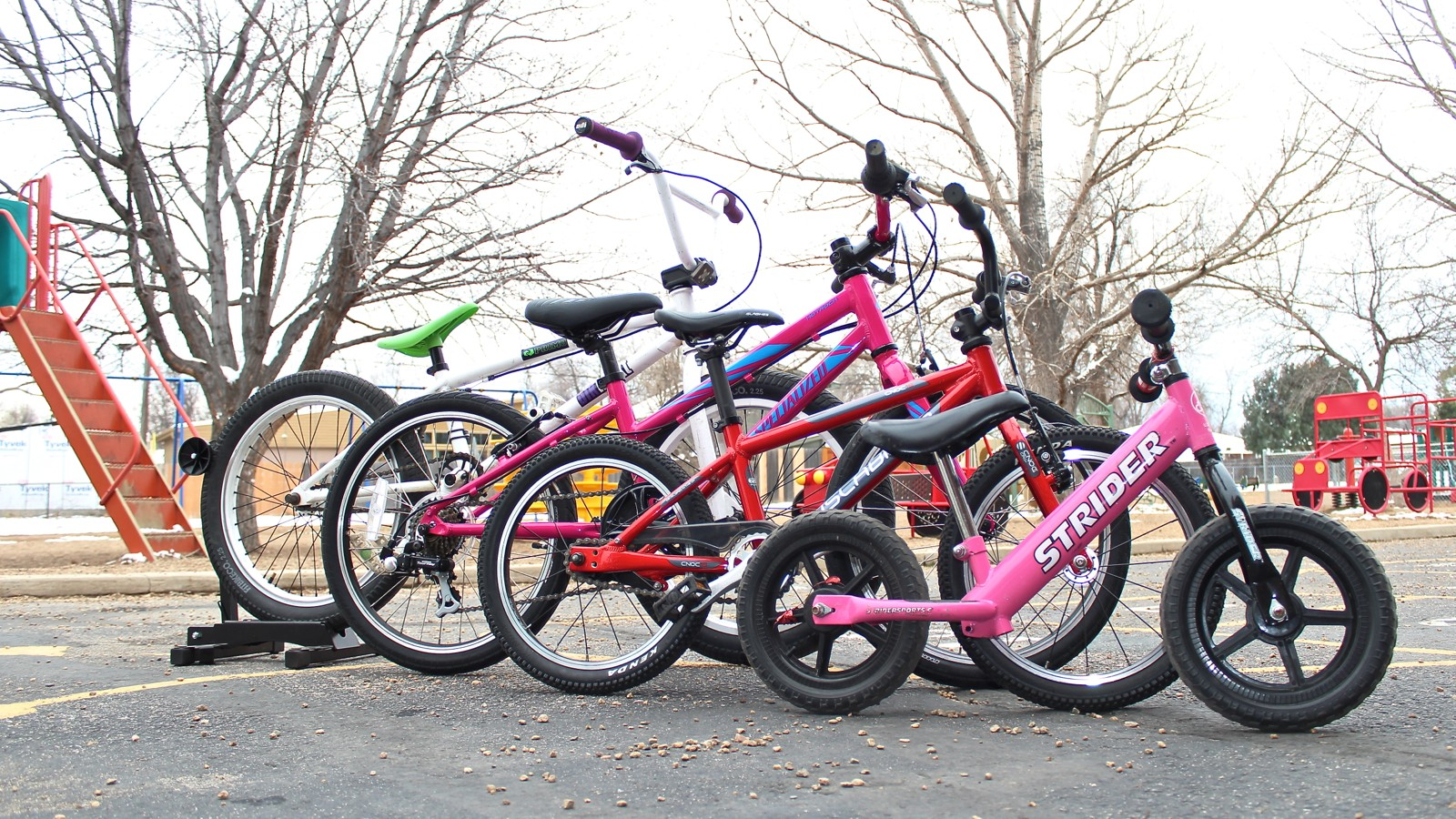 Finding the right kids' bike takes a little time and care, but will make someone very happy