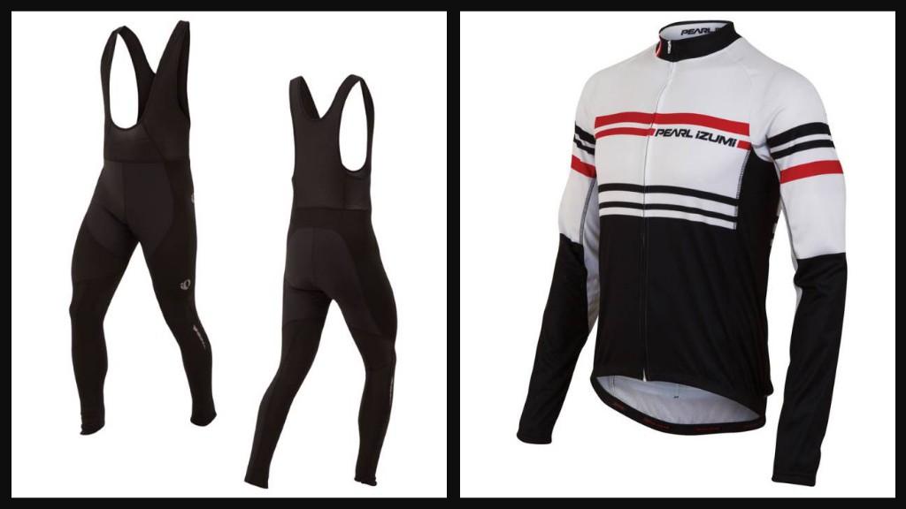 Pearl Izumi Elite Thermal LTD jersey and Elite Thermal Barrier bib tights