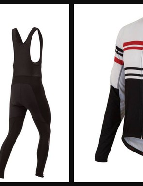 Pearl Izumi Elite Thermal LTD jersey and Elite Thermal Barrier bib tights