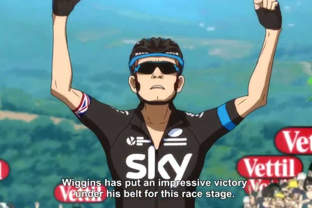Wiggo rides to victory helped by his Team Sky teammates – with a presumably unhappy Chris Froome left in the peloton