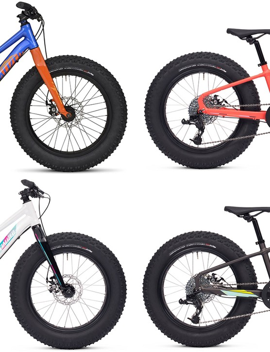 Both the Fatboy 20 (shown here) and Fatboy 24 will be available in four colorways
